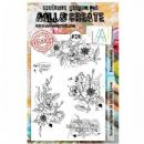 AALL and Create Clear A5 Stamp Set #324 Blooming Beauty by Bipasha BK